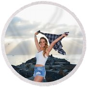 Taylor 022 Round Beach Towel
