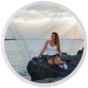 Taylor 024 Round Beach Towel