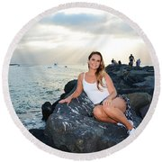 Taylor 033 Round Beach Towel