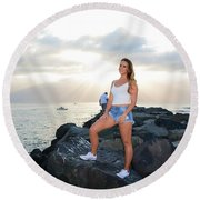 Taylor 035 Round Beach Towel