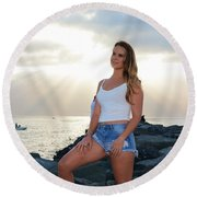 Taylor 036 Round Beach Towel