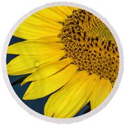 Tear Of The Sun Round Beach Towel