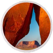 Teardrop Arch Round Beach Towel