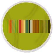 Technicolor Dreams Round Beach Towel