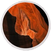 Tectonic Plates Round Beach Towel by Mike  Dawson