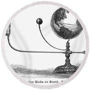 Tellurian Globe Round Beach Towel