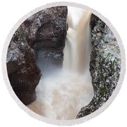 Temperance River State Park Four Round Beach Towel