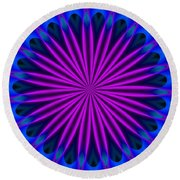 Ten Minute Art 102610a Round Beach Towel
