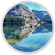 Tenaya Calm Round Beach Towel