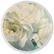 Tenderly Round Beach Towel