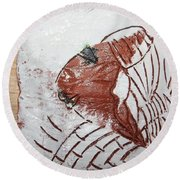Tendo - Tile Round Beach Towel