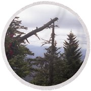 Tennessee Look Out Round Beach Towel