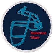 Tennessee Titans Retro Round Beach Towel
