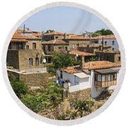 Tepekoy Village Round Beach Towel