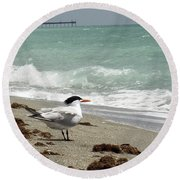Tern's View Gp Round Beach Towel