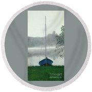 Terry's Runabout Round Beach Towel