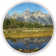Teton 5 Round Beach Towel