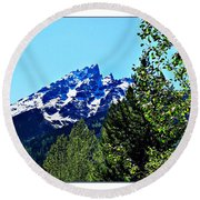 Teton Picture Perfect Round Beach Towel