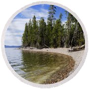Teton Shore Round Beach Towel