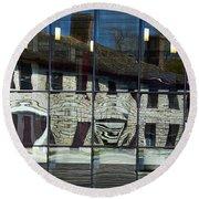 Tett Centre Reflection Round Beach Towel
