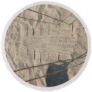 Texture #1 Round Beach Towel