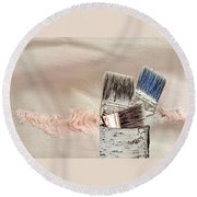 Texture Your World Round Beach Towel