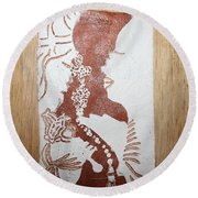 Thank You Lord 9 Round Beach Towel