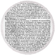 Thanksgiving Proclamation Round Beach Towel