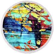 That Beauty You Possess Round Beach Towel