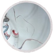 The 10th Month II Round Beach Towel