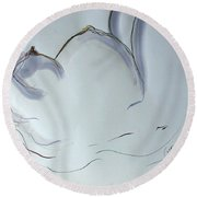 The 10th Month Iv Round Beach Towel
