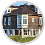 The Addy Sea Hotel - Bethany Beach Delaware Round Beach Towel