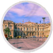 The Administrative Palace Round Beach Towel
