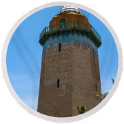 The Alhambra Water Tower Round Beach Towel