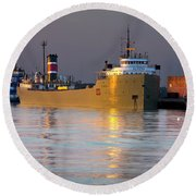 The Alpena At Rest Round Beach Towel