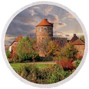 The Alte Burg Round Beach Towel