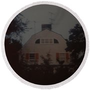 The Amityville Horror Round Beach Towel