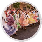 The Andalusian Fair, A Party In The Streets Round Beach Towel