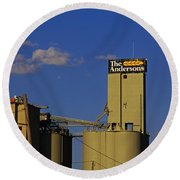 The Andersons Of Maumee- Horizontal Round Beach Towel