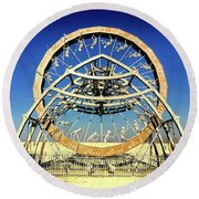 The Ascent Of Man Round Beach Towel