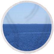 The Baltic Sea Round Beach Towel