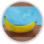 The Banana Round Beach Towel