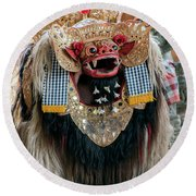 The Barong Round Beach Towel