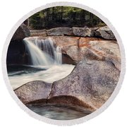 The Basin Pano Round Beach Towel