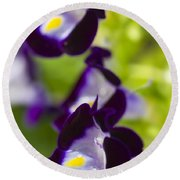 What's Wrong With Being A Pansy? Round Beach Towel