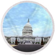 The Best Congress Money Can Buy Round Beach Towel
