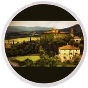 The Best Of Italy Round Beach Towel