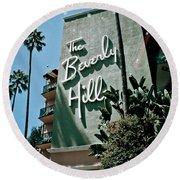 The Beverly Hills Round Beach Towel