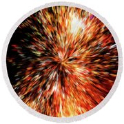 The Big Bang Round Beach Towel