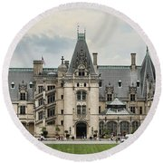 The Biltmore Estate Round Beach Towel